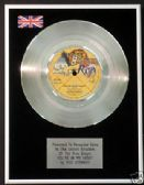 "ROD STEWART  7"" Platinum Disc - YOU'RE IN MY HEART"